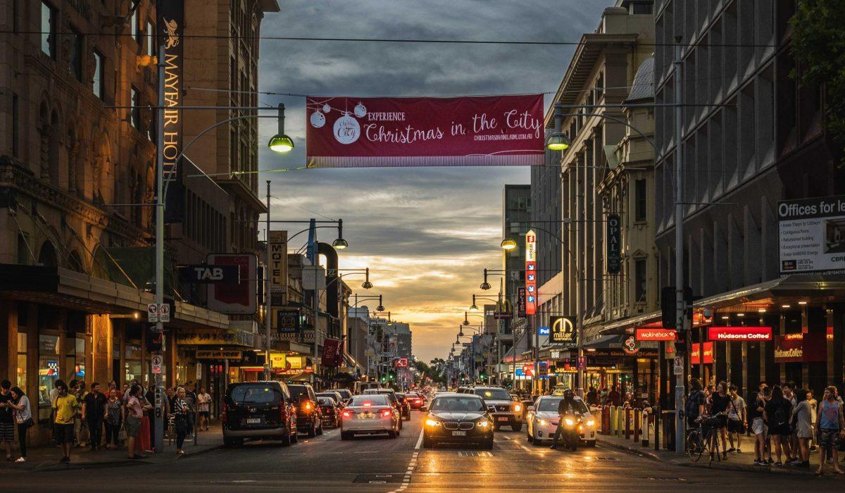 Adelaide straatbeeld