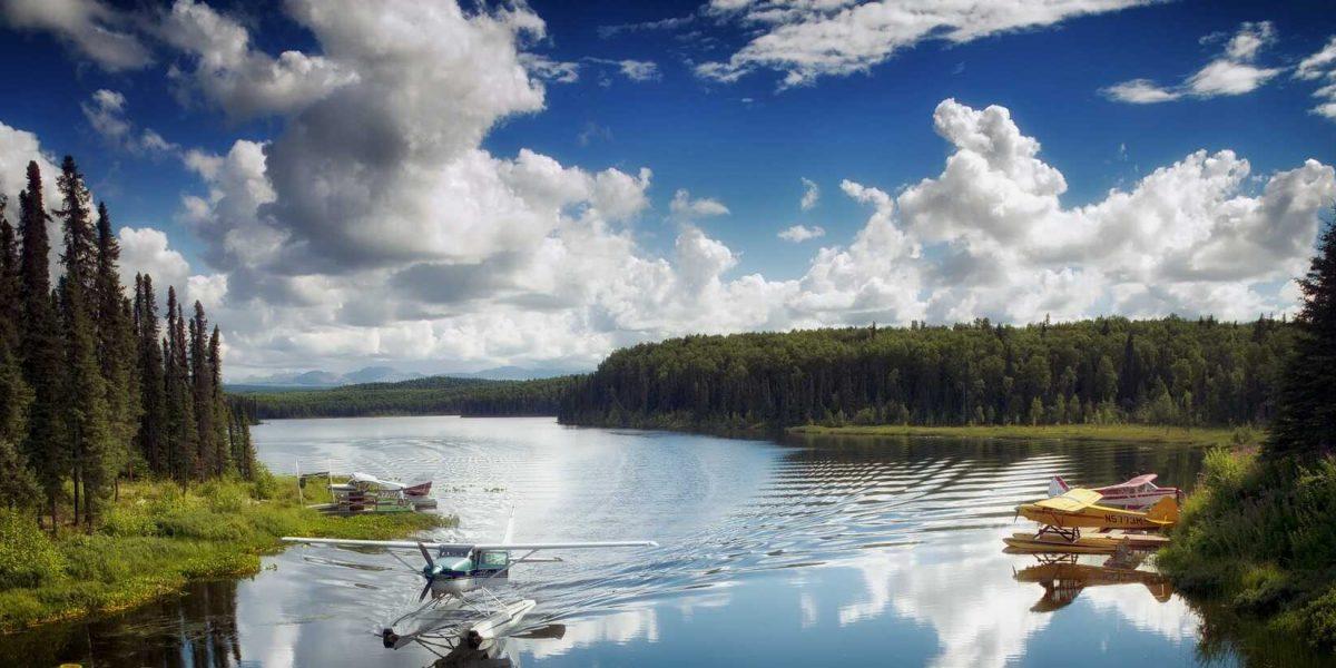 Alaska watervliegtuig