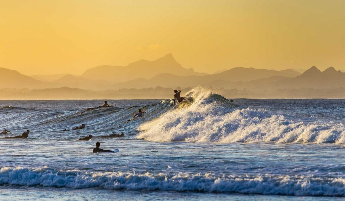 Byron Bay surfen