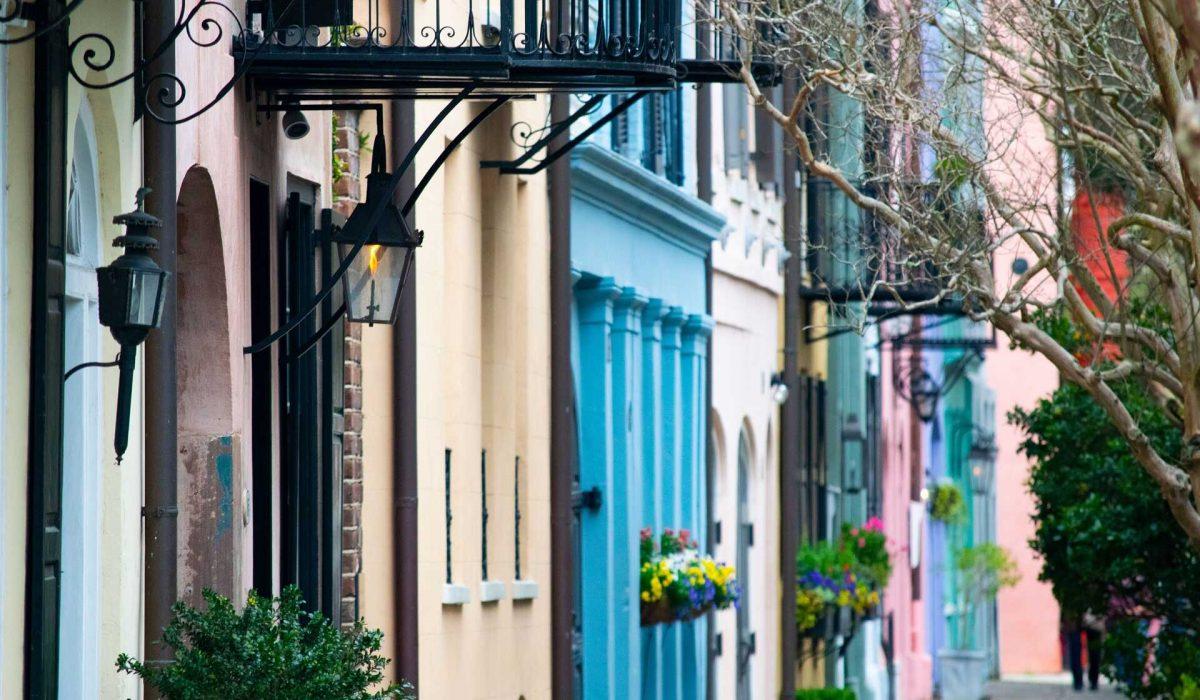 Charleston huizen