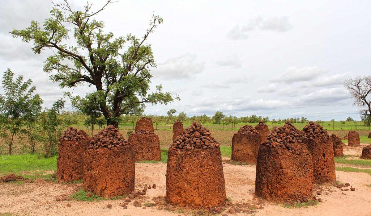 Gambia steencirkels