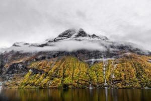 Geirangerfjord bergwand