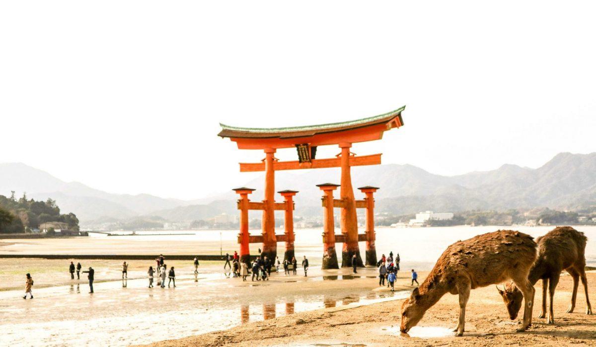 Hiroshima Miyajima tempel