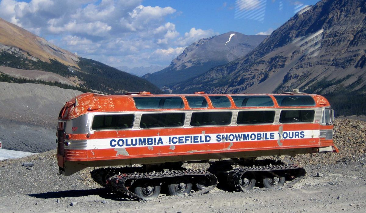 Icefield Parkway Columbia Icefields Explorer