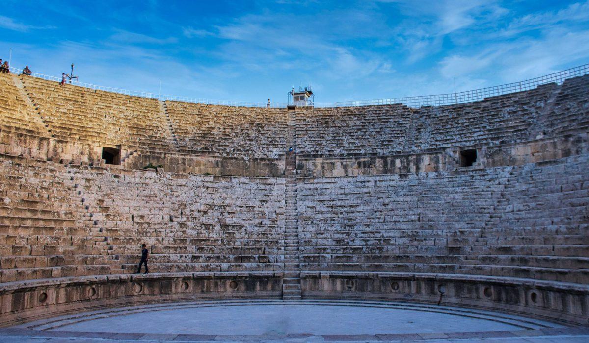 Jerash amfitheater