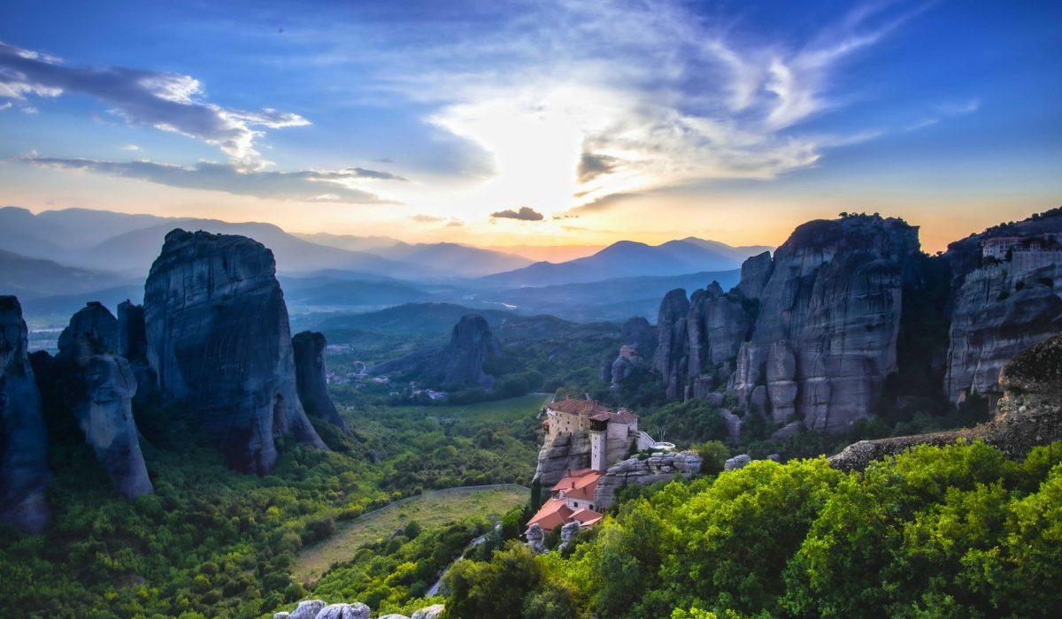 Kalambaka Meteora kloosters