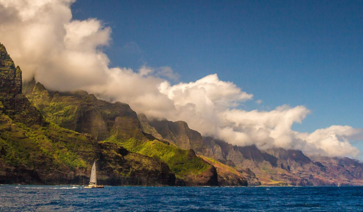 Kauai Napali Coast zeilboot