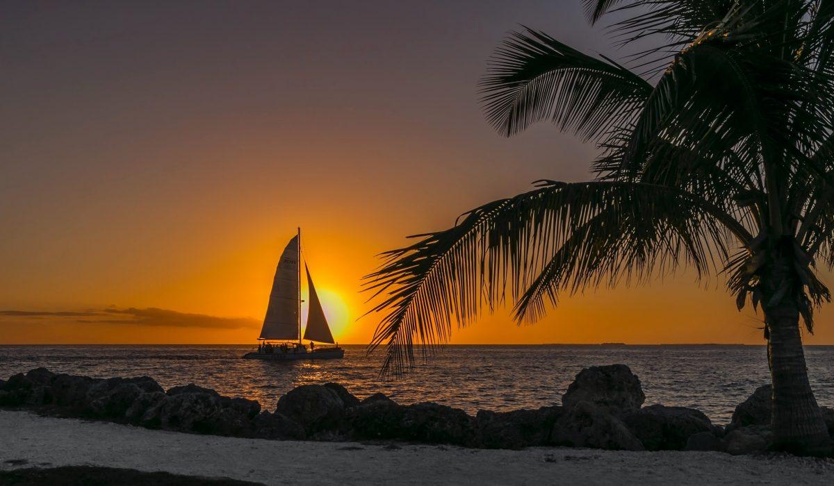 Key West zeilboot