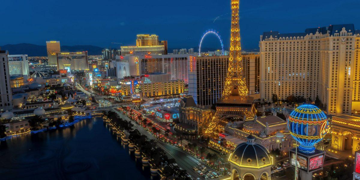 Las Vegas uitzicht
