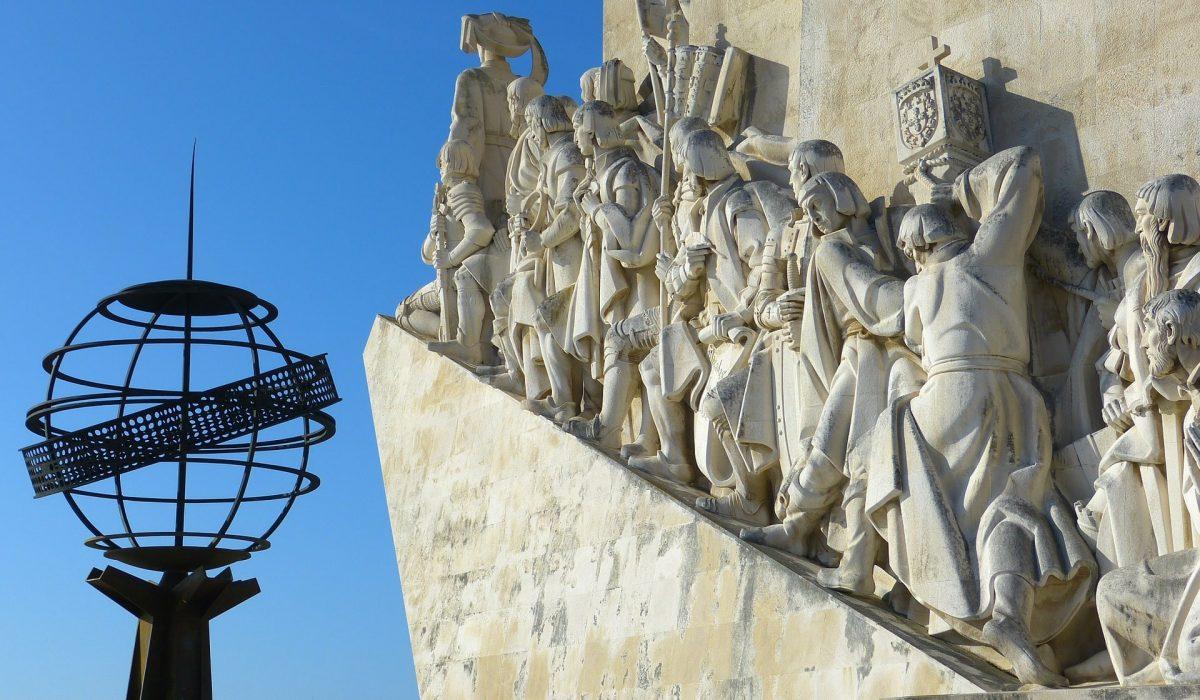 Lissabon Monument der Ontdekkingsreizen