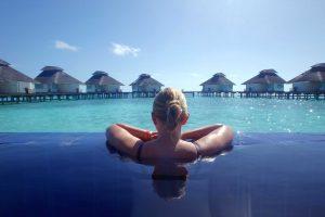 Malediven waterbungalow