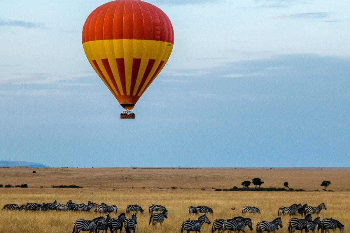 Masai Mara ballonvaart