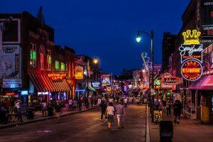 Zuidelijke Staten Memphis Beale Street