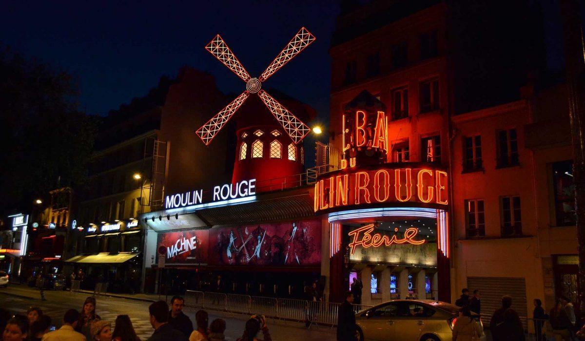 Montmartre Moulin Rouge