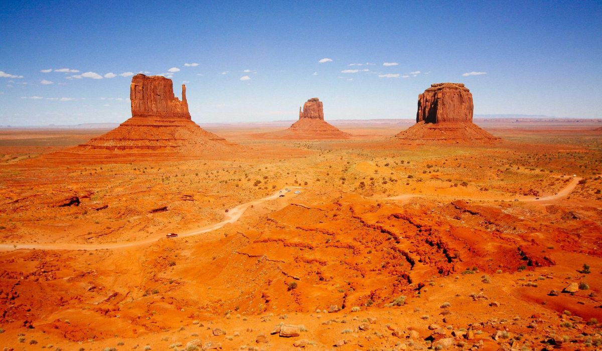 West Amerika Monument Valley