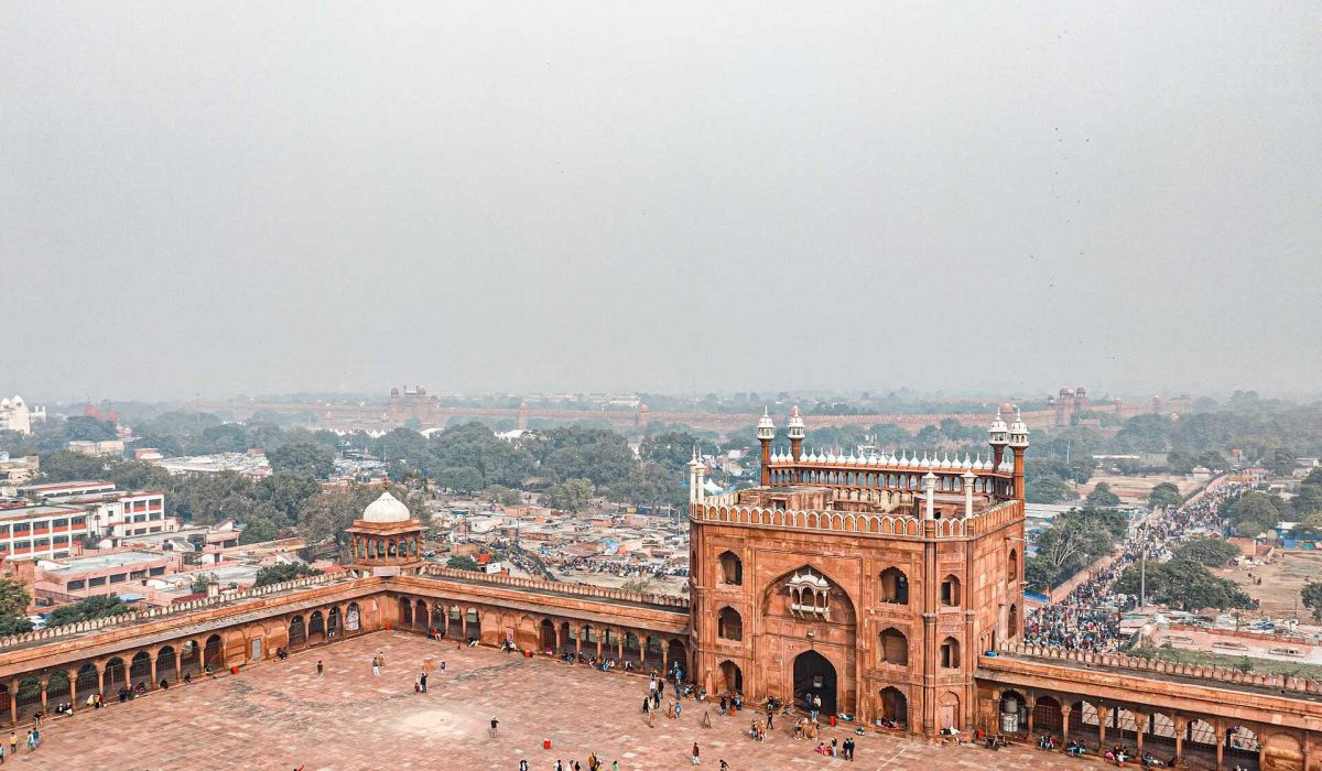 New Delhi Jama Masjid Moskee