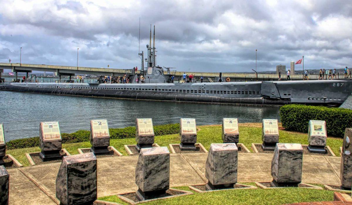 Oahu Pearl Harbor onderzeeboot
