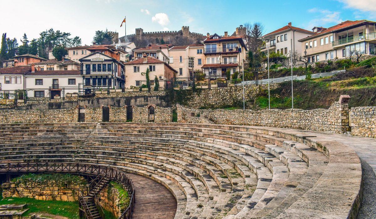 Ohrid amfitheater