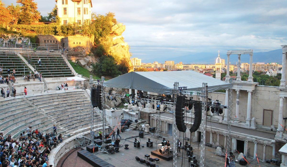 Plovdiv amfitheater
