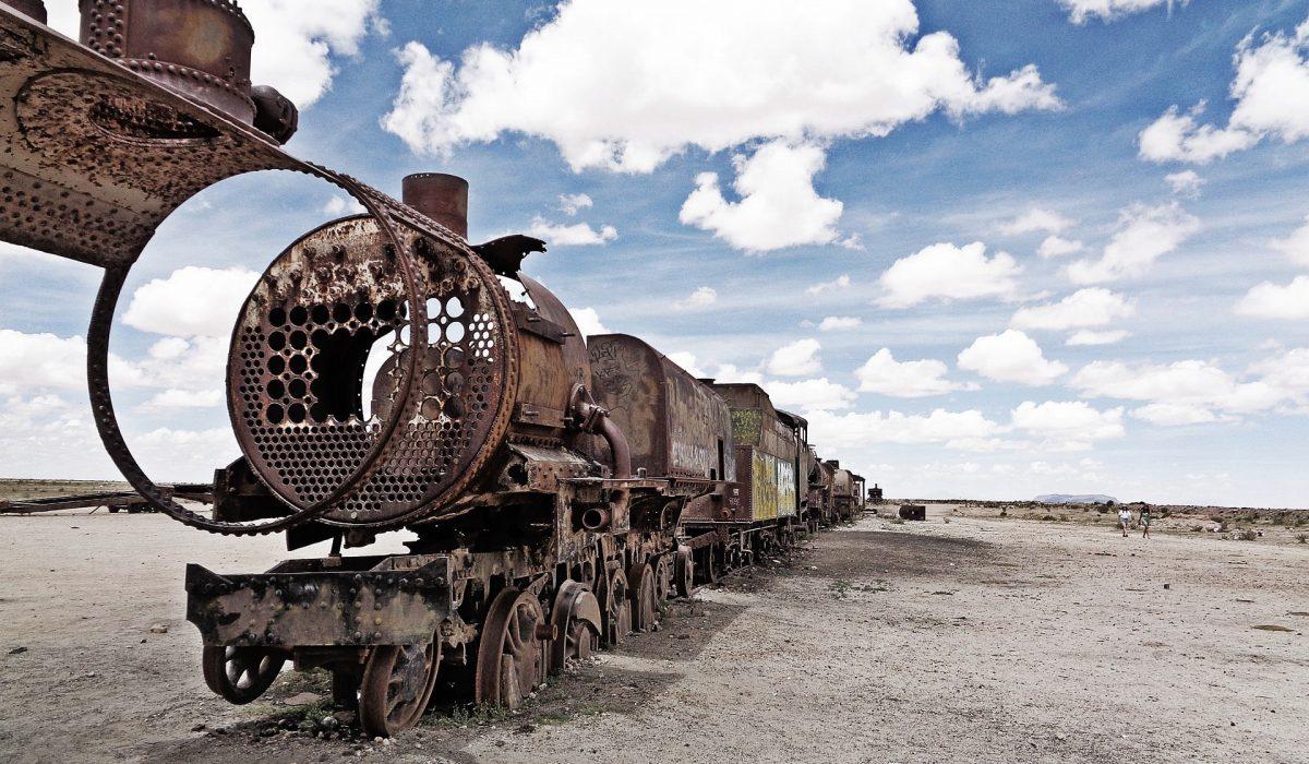Salar de Uyuni treinkerkhof