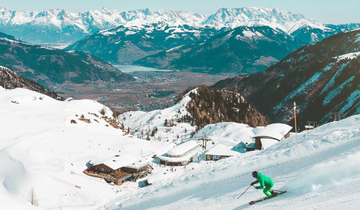 Skien afdalen