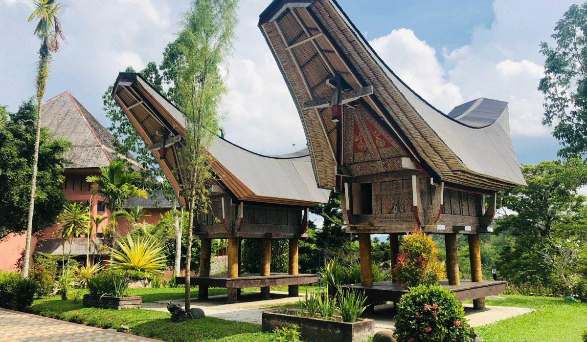 Sulawesi Torajahuizen