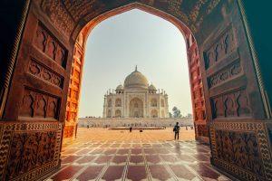 Taj Mahal poort