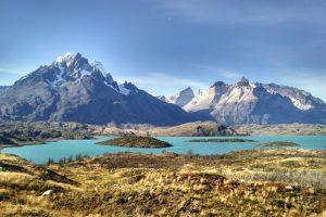 Torres del Paine meer