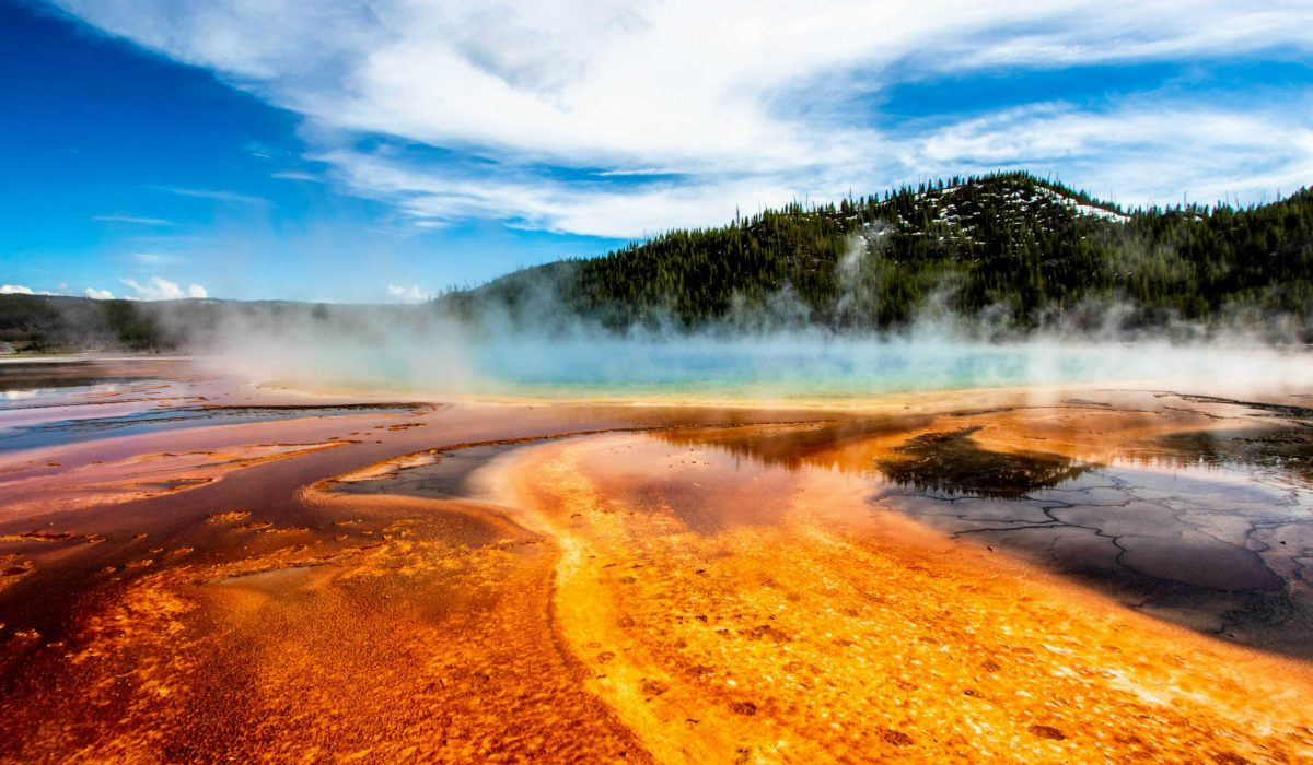 Yellowstone warmwaterbronnen